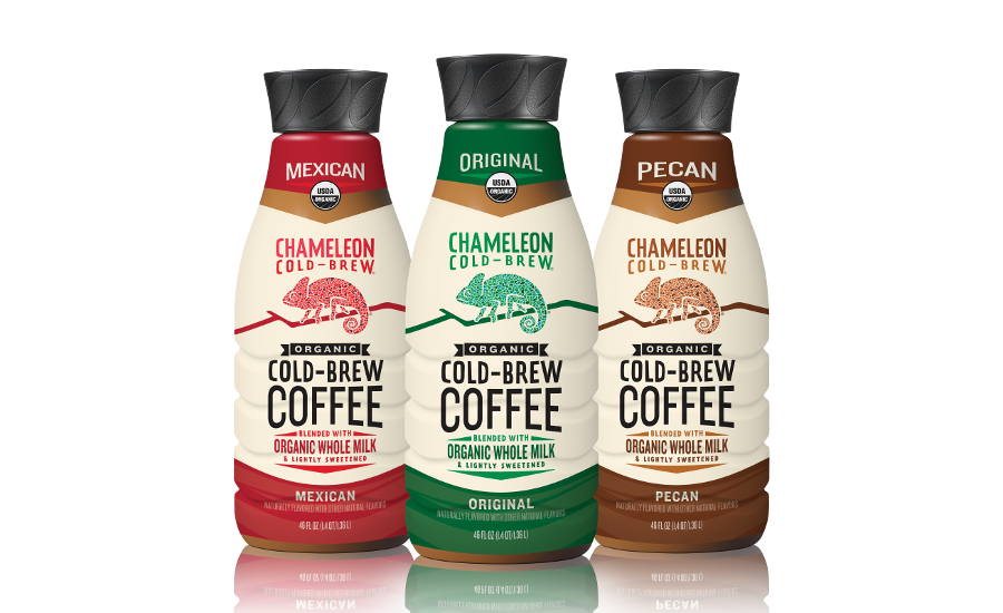 Chameleon Cold-Brew Coffee with Milk