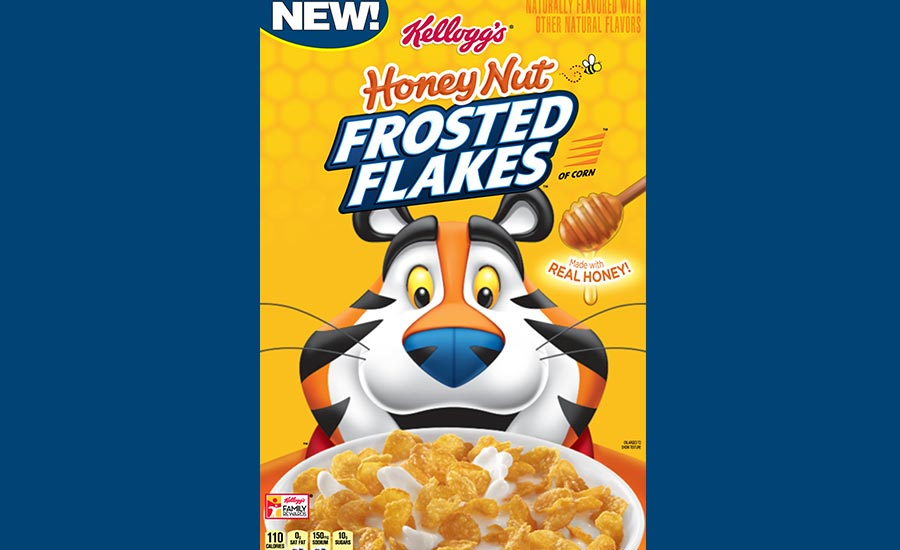 Kellogg's Honey Nut Frosted Flakes