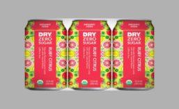 DRY Zero Sugar USDA Organic Ruby Citrus Soda