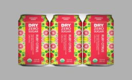 DRY Zero Sugar USDA Organic Ruby Citrus Soda