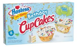 Hostess Birthday CupCakes