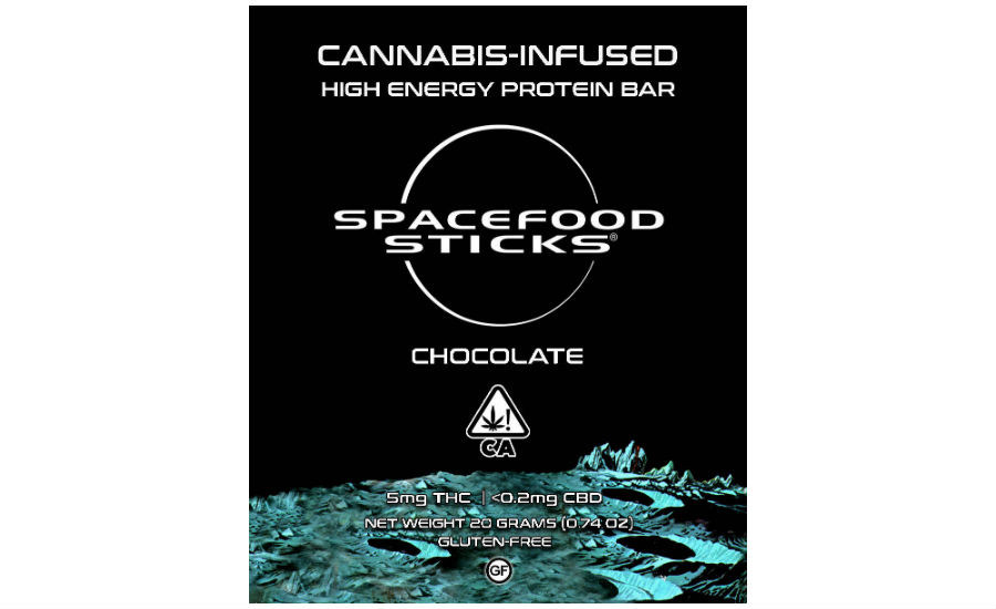 Reimagined Space Food Sticks Launch as THC Edible