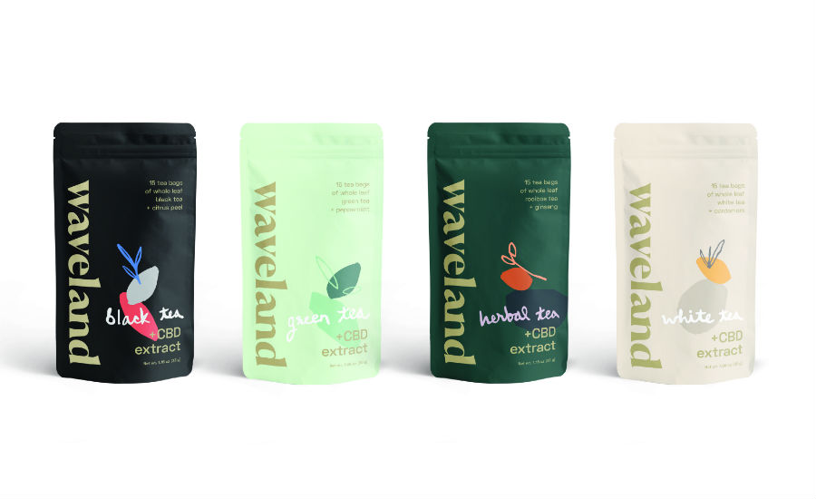 Waveland CBD Tea Launches Nationally with Four Blends