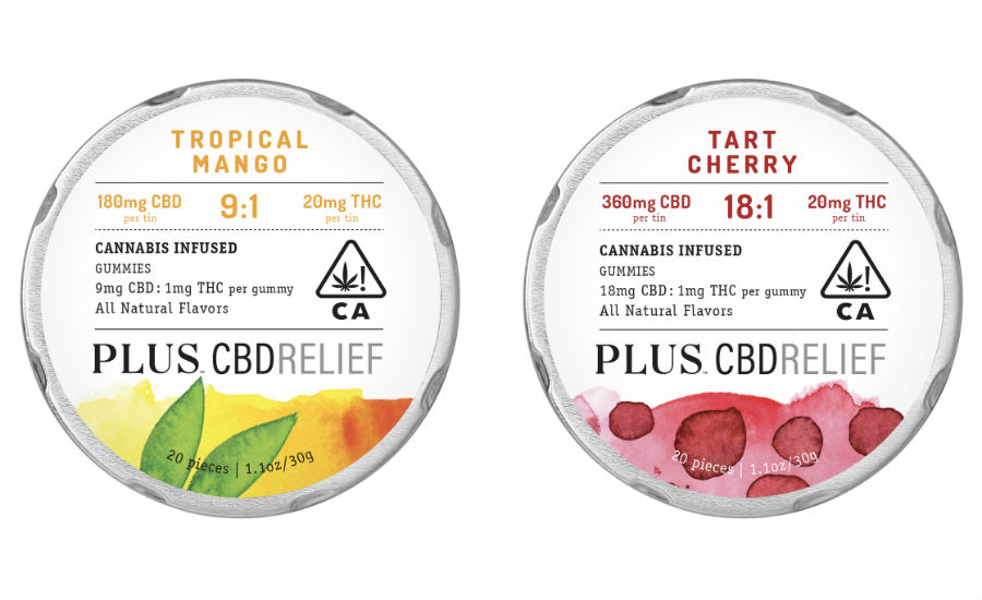 PLUS Products Launches CBDRelief Brand in California