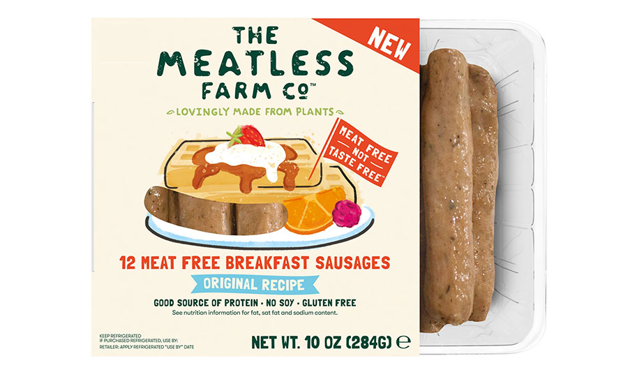The Meatless Farm Co Meat Free Breakfast Sausages