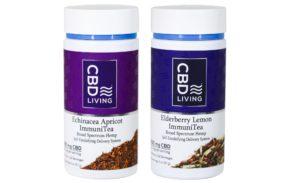 Cbd living immunitea web