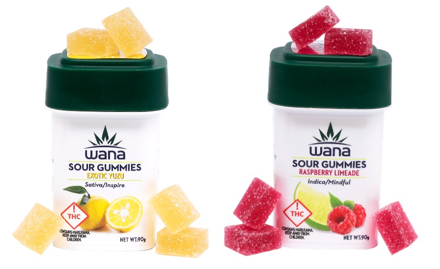 Wana Brands High Dose gummies