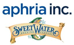 Aphria SweetWater logos