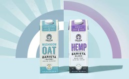Califia Farms Mushroom Oat, Hemp Barista Blends