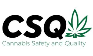 Cannabis safety and quality logo web