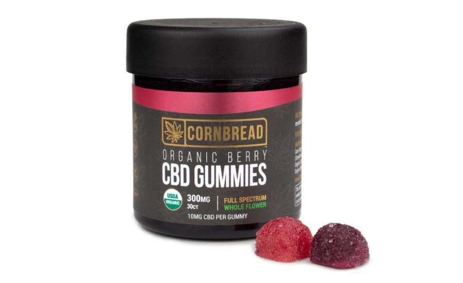 Cornbread Hemp Introduces Organic CBD Gummies | 2021-04-19 | Prepared Foods