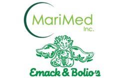 MariMed Emack logos