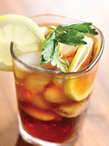iced tea, natural colors, palm-free