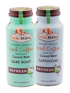 Real Beanz iced coffee