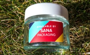 Sana glass jars