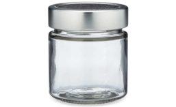 Berlin Packaging Clear Glass Ergo Food Jars