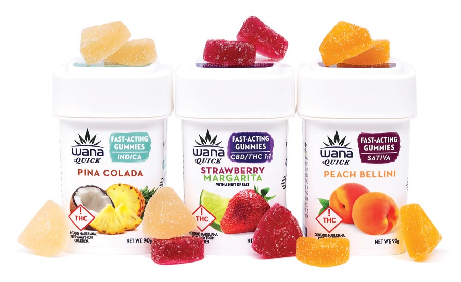 Wana Brands Quick Fast-Acting Gummies