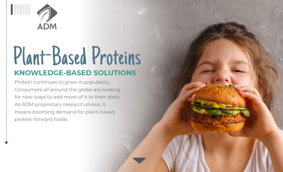 ADM Plant-Based Proteins Knowledge-Based Solutions