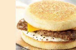 Turkey Sausage Sandwich