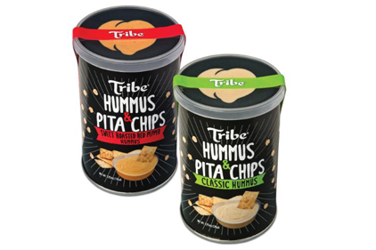 Tribe Mediterranean Foods, hummus, to go pack