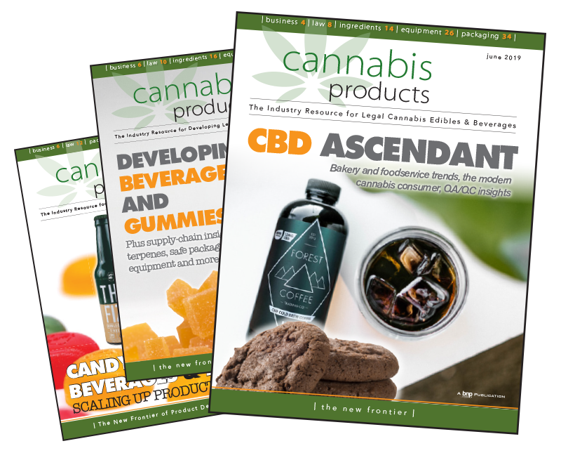 Cannabis Products Supplement