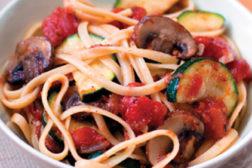 vegetables, pasta
